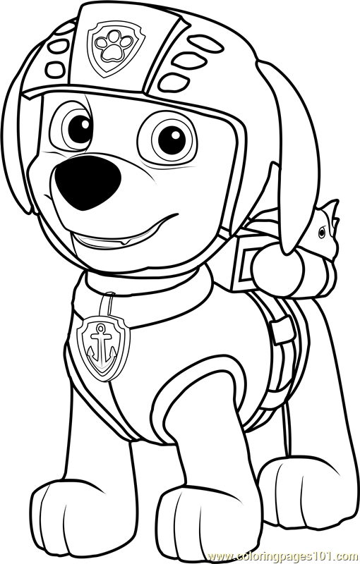 Zuma Coloring Page Pages Paw Patrol Rhpinterest: Coloring Pages Disney Paw Patrol At Baymontmadison.com