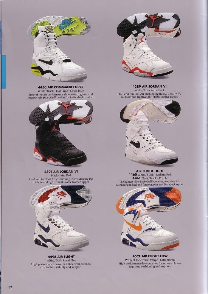 competitive price 736bc 7278d 1991 Nike Catalog