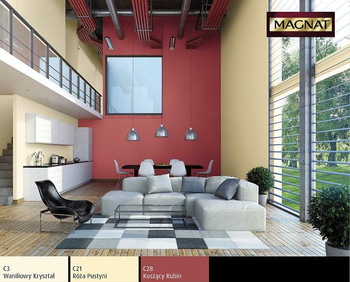 Trendy Kolorystyczne Farby 2013 Inspirujace Wnetrza Magnat