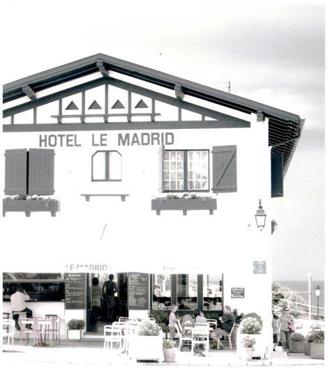 hotel le madrid guethary cotes des basques france. Black Bedroom Furniture Sets. Home Design Ideas