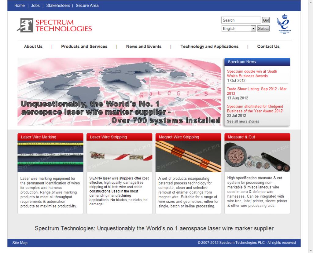 Spectrum Technologies PLC - Spectrum Technologies PLCThe global ...