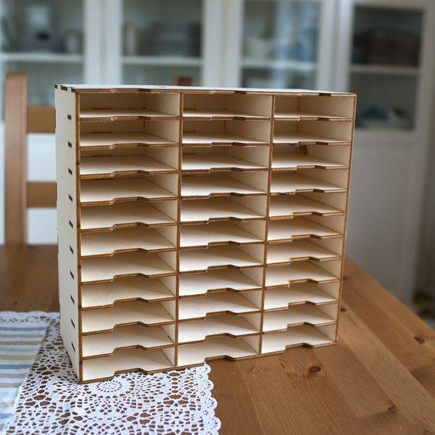 stampinup stempelkissen regal aufbewahrung selber schreinern woodworking for your home. Black Bedroom Furniture Sets. Home Design Ideas