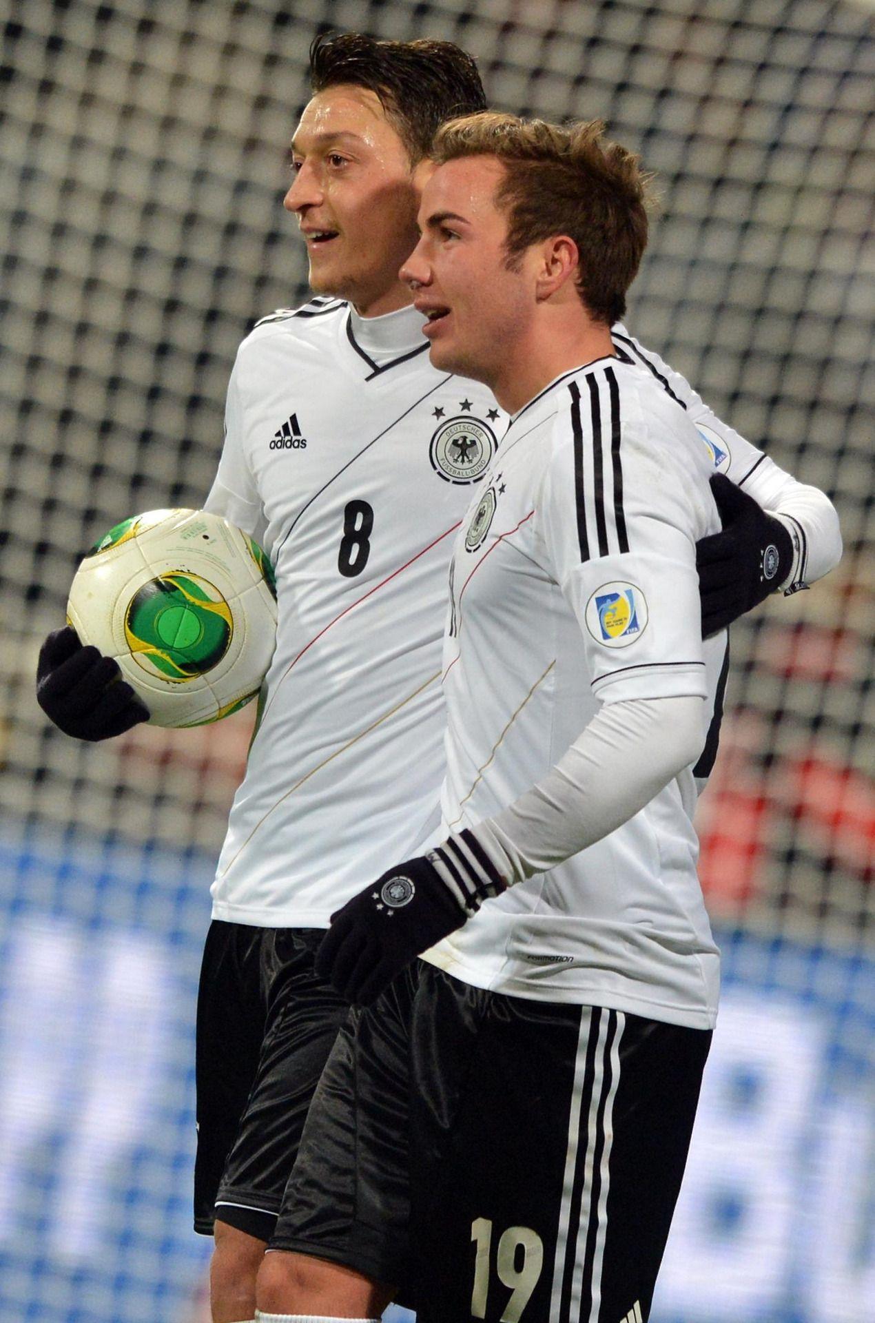 Mesut Ozil Mario Gotze Aka The Definition Of Perfection Germany Football Team Germany Football German Football Players