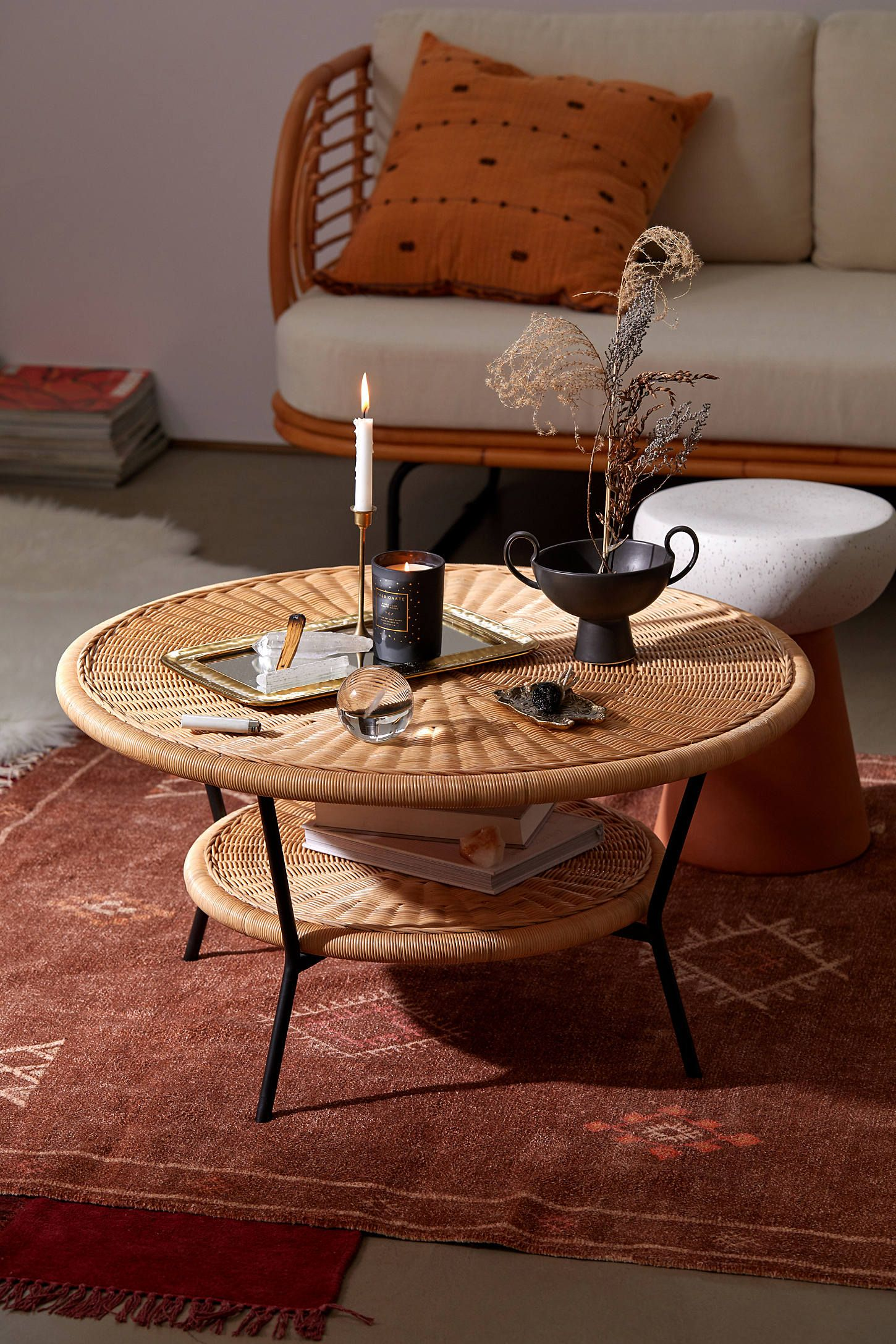 Mikko Coffee Table Coffee Table Wicker Coffee Table Coffee Table Urban Outfitters [ 2175 x 1450 Pixel ]