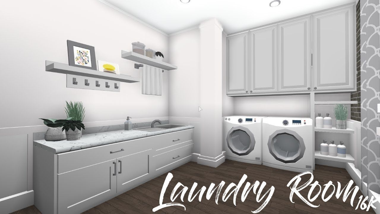 Bloxburg Laundry Rooms Yahoo Image Search Results Luxury House Plans Tiny House Layout Tiny House Bedroom