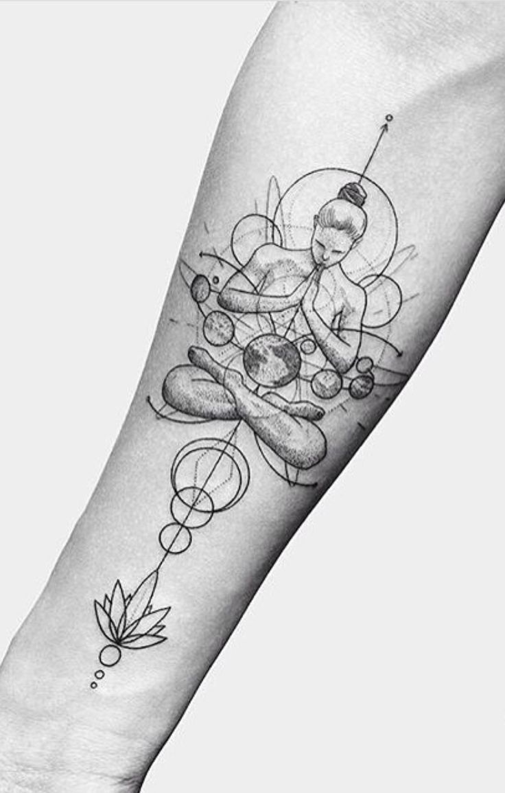 Photo of 24 creative arm tattoo designs for men who love all women. A simple linework or