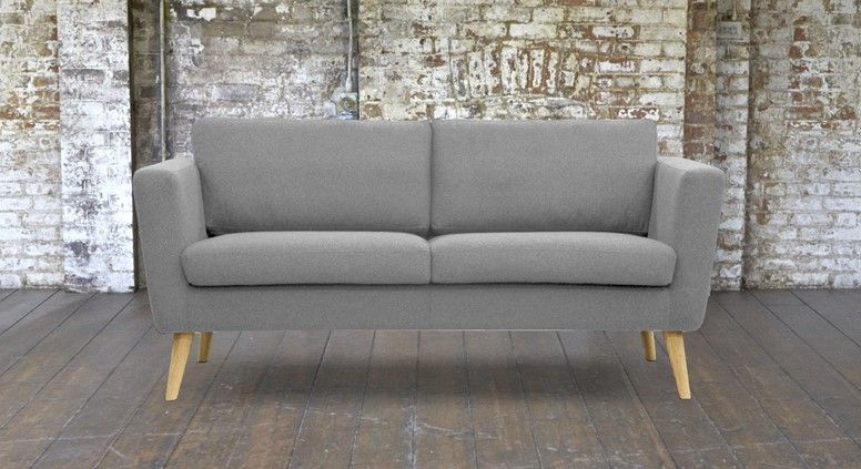 Superb Grey Small 2 Seater Sofa Knebworth Light Grey Pimlico Pdpeps Interior Chair Design Pdpepsorg