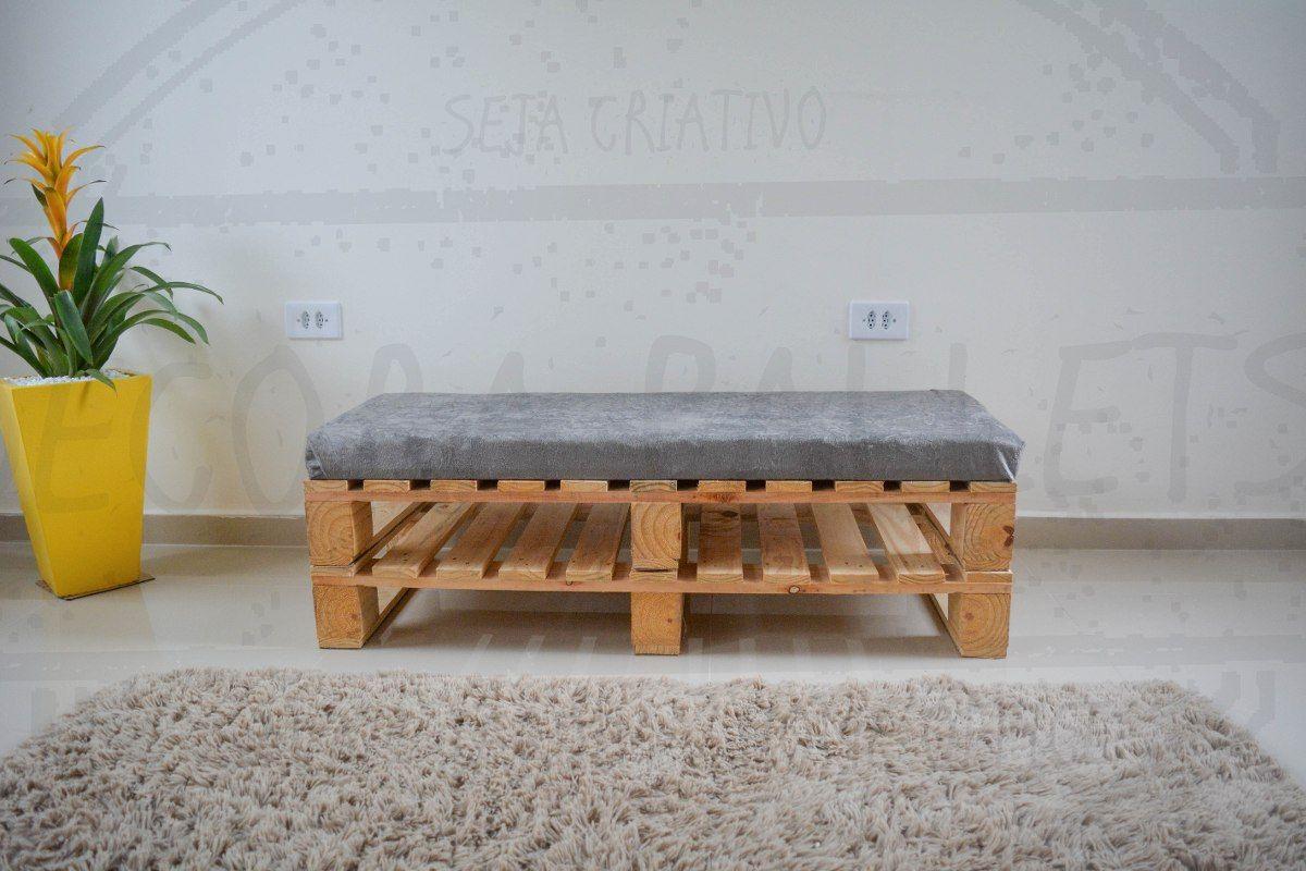 Banco De Pallet Simples E Facil De Fazer Mobiliario Reciclado