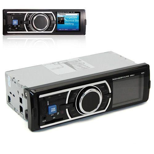 Coche-de-audio-en-tablero-ESTEREO-AM-FM-RADIO-AUX-entrada-Receptor-Remoto-Usb-Sd-Reproductor-De-Mp3