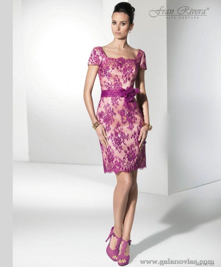 Vestido de fiesta, Fran Rivera FRC322. Elegante y sencillo. Ideal ...