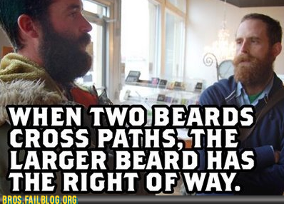 Beard right-of-way.
