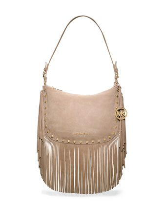 6c80a7a146a2 MICHAEL Michael Kors Medium Billy Fringe Shoulder Bag. | Bag Begger ...