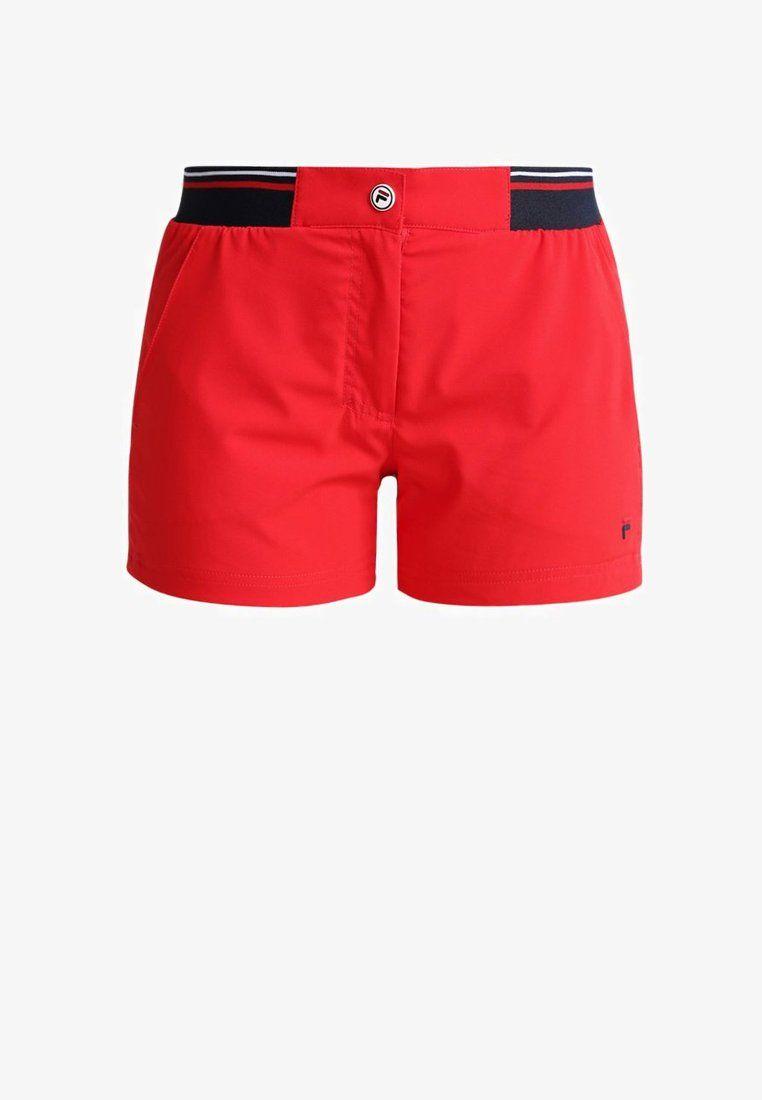 Joggingbroek Zalando.Boxy Short Bianca Pantalon Corto De Deporte Red Zalando Es