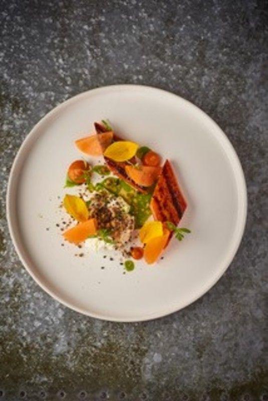 Spiced Carrot Whipped Tofu Dukkah In 2019 Best Vegan