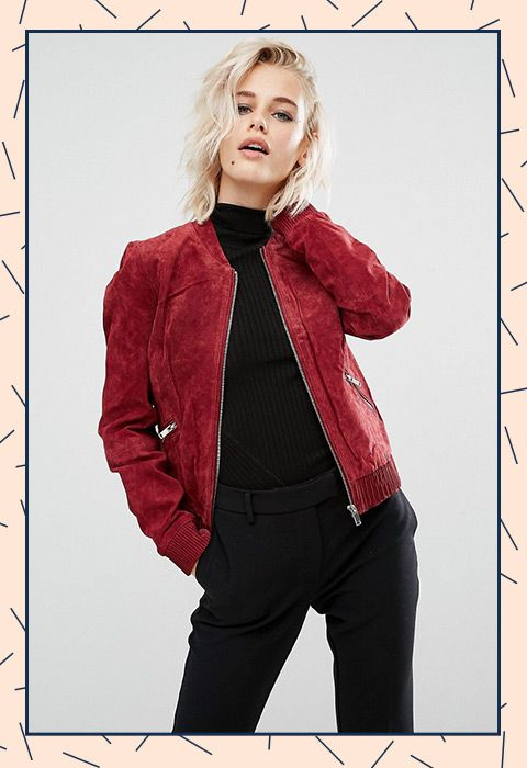 Autumnal oxblood shade? Tick. Fancy-as suede? Tick. Prim enough to take to the office? Tick, tick and tick