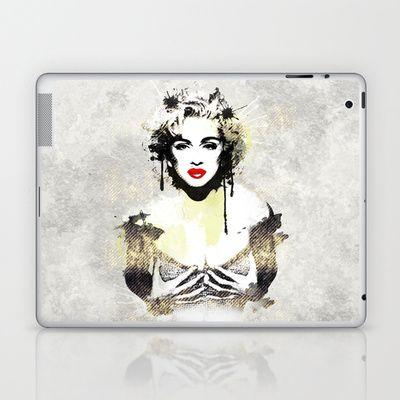 Like a Virgin Laptop & iPad Skin by RobozCapoz - $25.00