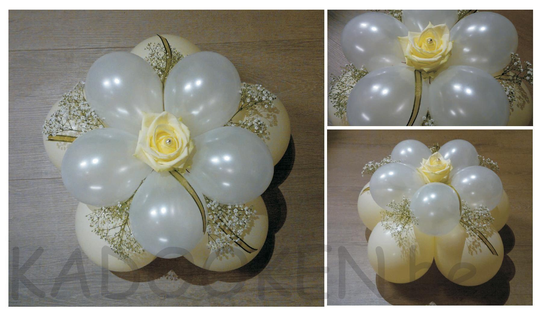 Tafeldecoratie huwelijk huwelijksballonnen versiering for Tafeldecoratie huwelijk