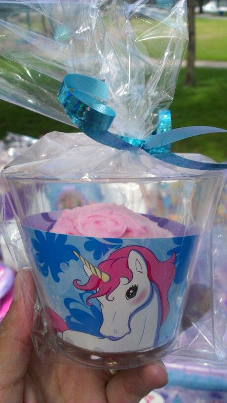 Cute Idea for a birthday party, wrap cupcake in a fun decorative cup!! :)