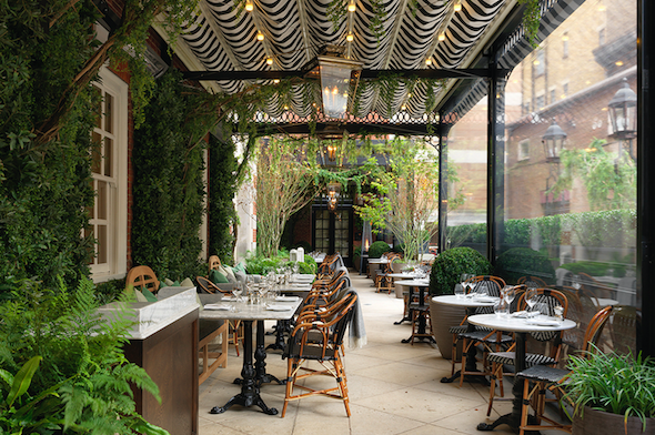 A Bloomsbury Afternoon Tea at Dalloway Terrace | Wrap Your Lips Around This Terrace
