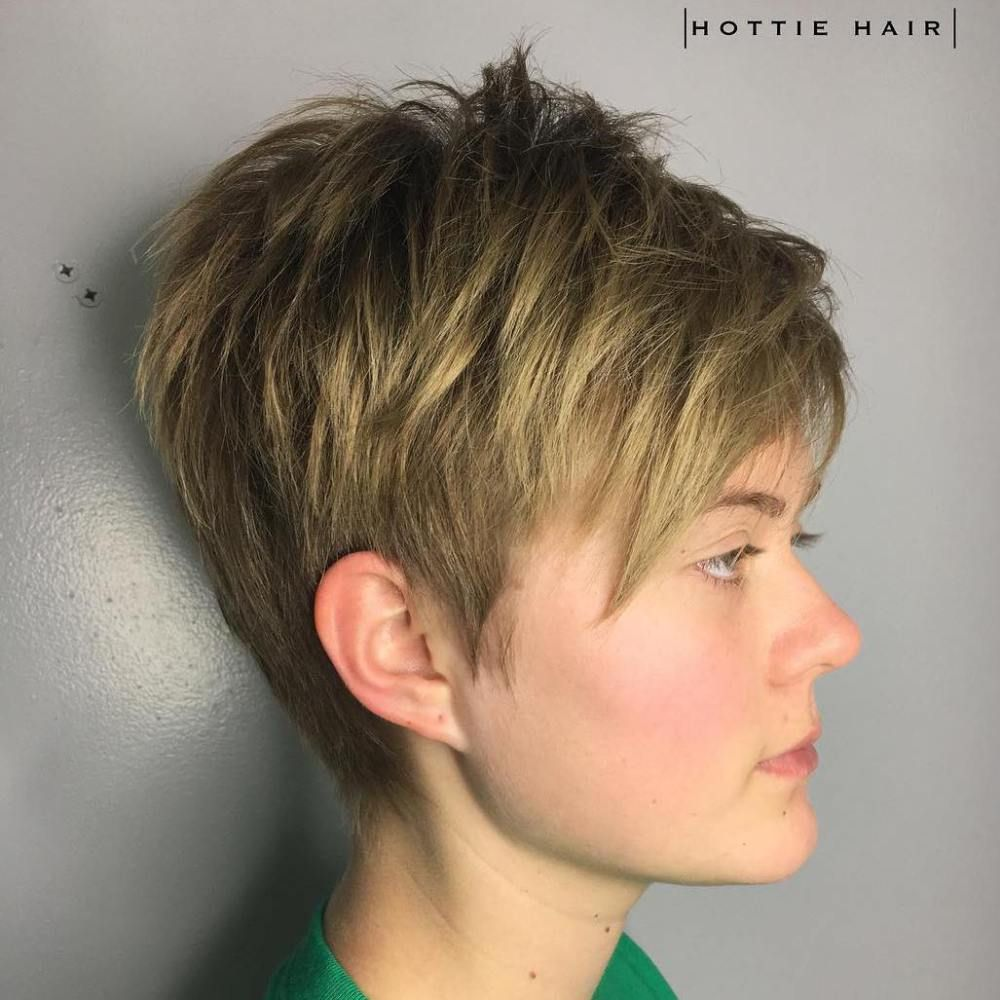 Hair Cut The Is Short To Medium Length Colour Colouring Back With Blue And Purple Highlights