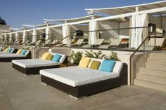 poolside bed - Google Search