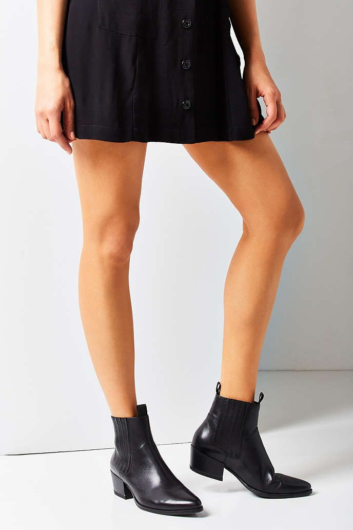 403ab89b90b UrbanOutfitters.com  Awesome stuff for you  amp  your space Black Chelsea  Ankle Boots