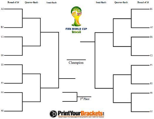 World Cup Tournament Bracket Printable Fifa Schedule 2014 World Cup World Cup Schedule Fifa