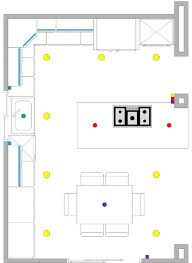 Recessed Lighting Layout Google Search Kitchen Recessed