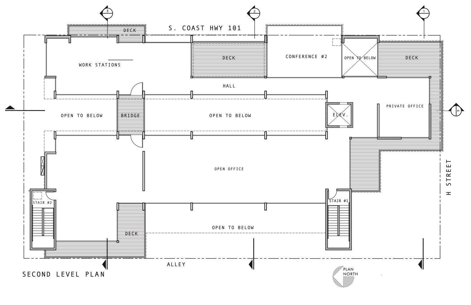 Gallery Of C3 Bank Headquarters Brett Farrow Architect 21 Site Plan Architect Private Office
