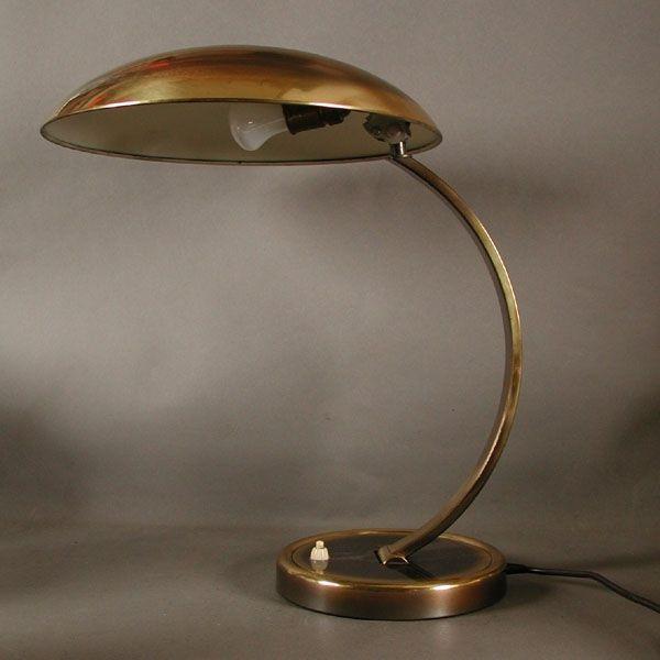 Bürolampe. Kaiser Idell 6751. Bauhaus Design. 1940.