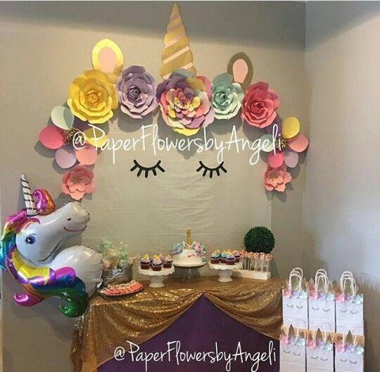 Unicorn birthday decorations birthday ideas pinterest - Decoracion fiesta jardin ...
