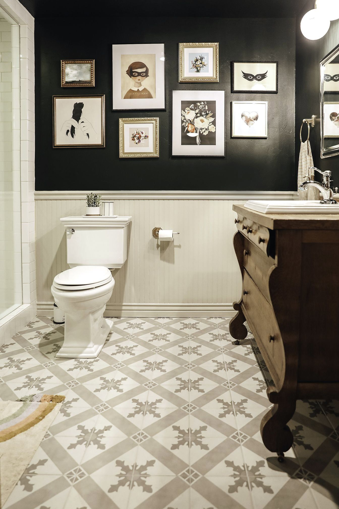 Tips For Sprucing Up A Bathroom With No Windows In 2021 Unique Small Bathroom Designs Windowless Bathroom Unique Bathroom Design