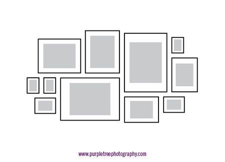 Picture Frame Arrangements Picture Arrangements On Wall Frame