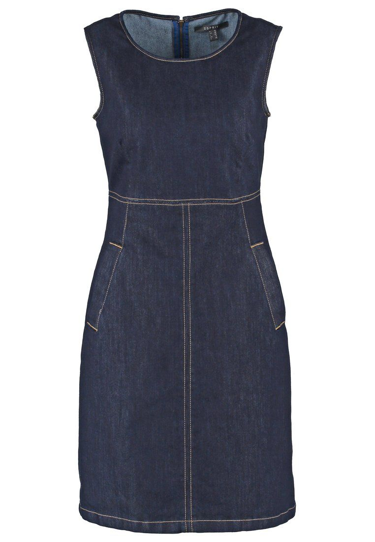Esprit Collection Spijkerjurk - blue rinse - Zalando.nl | vestidos ...
