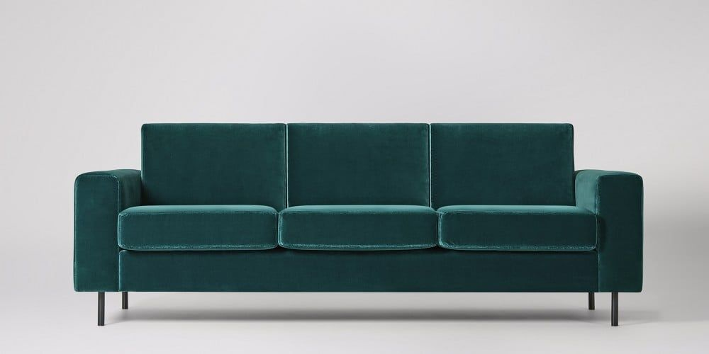Malvern Three Seater Sofa Swoon Editions