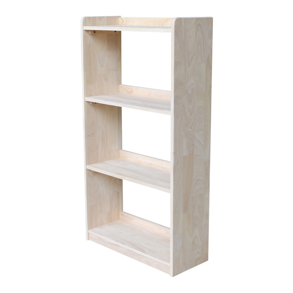Abby 50 Bookcase - Unfinished - International Concepts, Wood