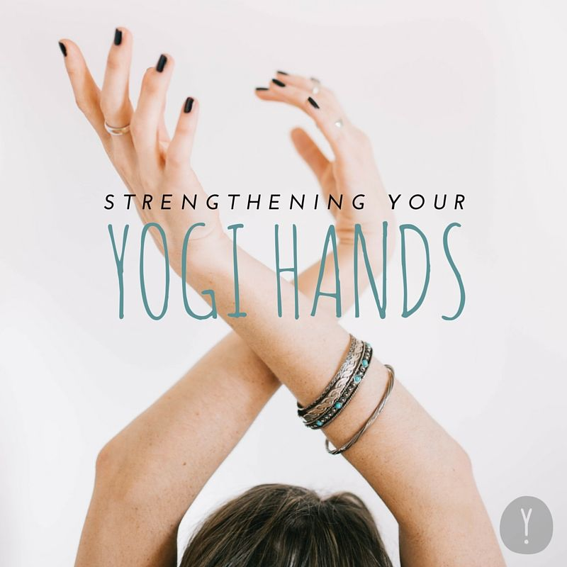 Ouch! It's no fun to experience pain or discomfort in your fingers, thumbs, or wrists when trying to disperse your weight properly between your hands and feet in certain yoga poses. It may be worth doing a few extra exercises beforehand to help your hands get stronger.