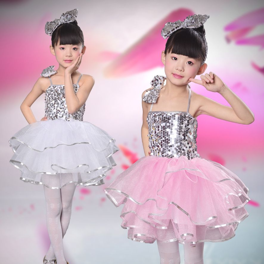 d1a4f5d60 Click to Buy    modern kids jazz dance costumes sexy stage costume ...