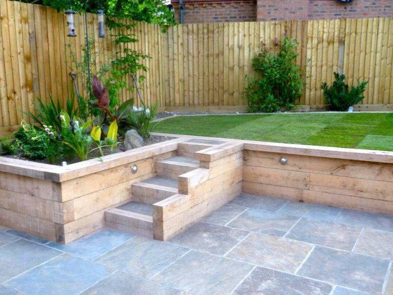 Retaining Wall Builders Orpington Bromley Beckenham Sevenoaks Garden Retaining Wall Sloped Garden Back Garden Design