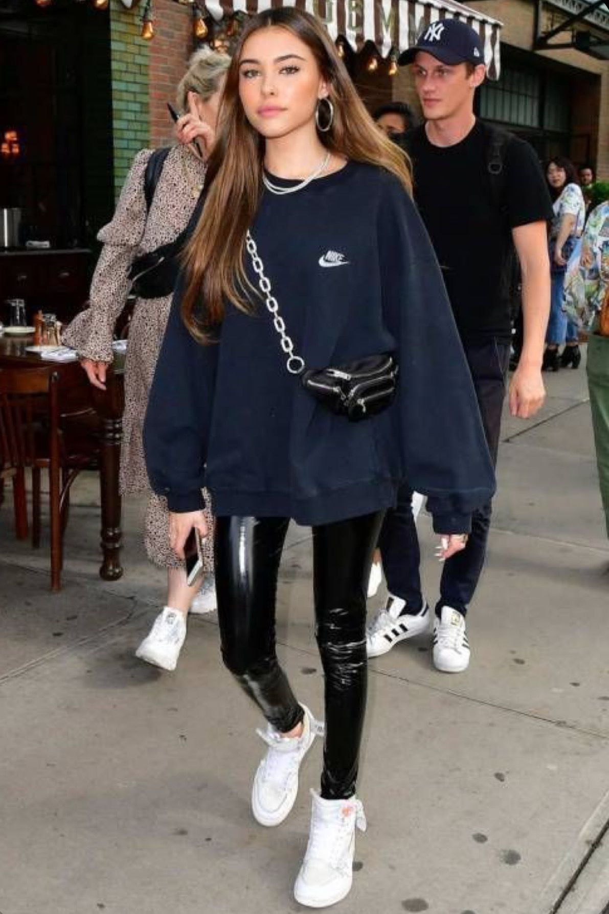 Streetwear Supreme T Shirts In 2020 Madison Beer Outfits Beer Outfit Celebrity Style Casual [ 1789 x 1191 Pixel ]