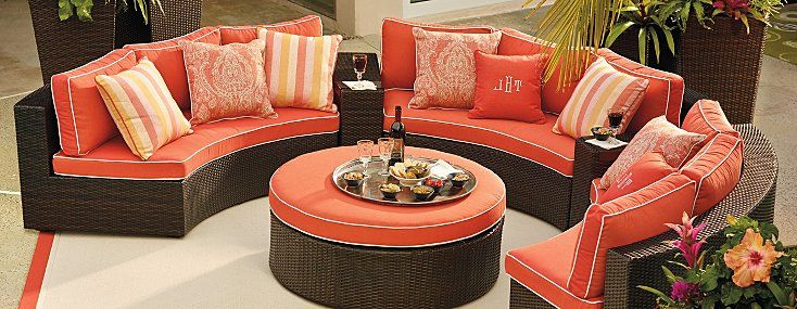 Outdoor Furniture Sets By Frontgate   Patio Furniture Collections  Frontgate