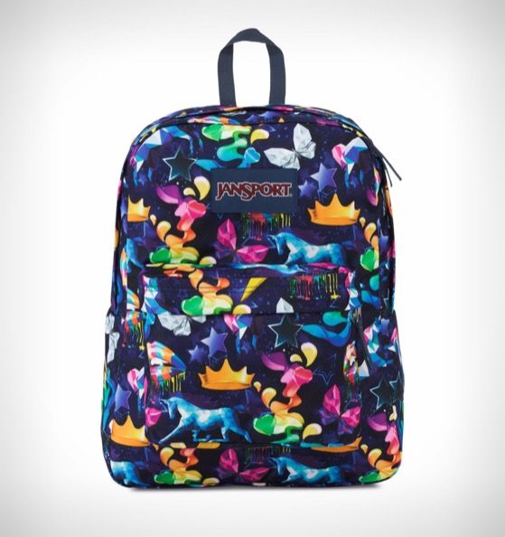 afb67a90fedc JanSport SuperBreak ® Backpack Rainbow Mania – Rushfaster.com.au Australia