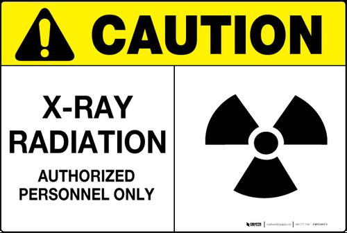 X Ray Radiation Wall Sign Wall Signs Radiation X Ray