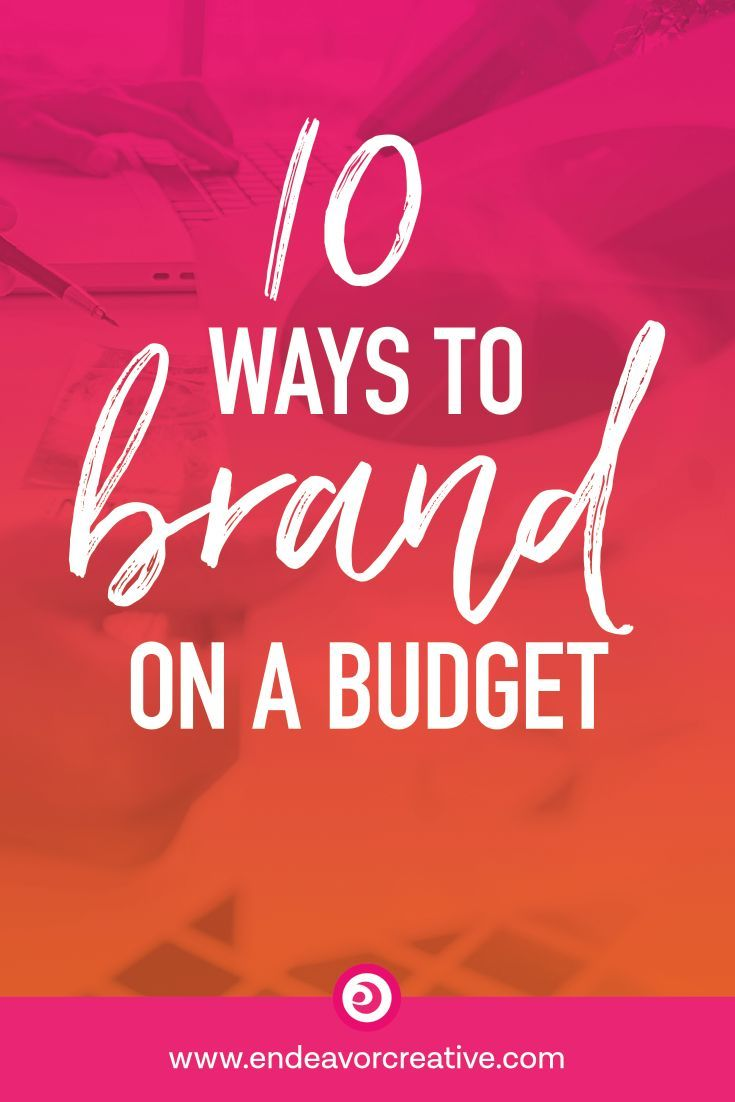 Branding Your Small Business On A Budget: 10 Clever Hacks #colorpalettecopies
