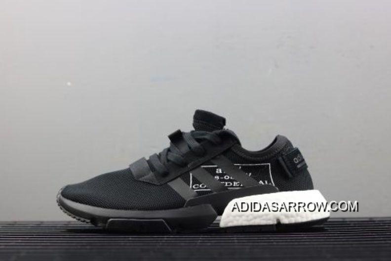Año Nuevo Ofertas Adidas originales negro blanco zapatos