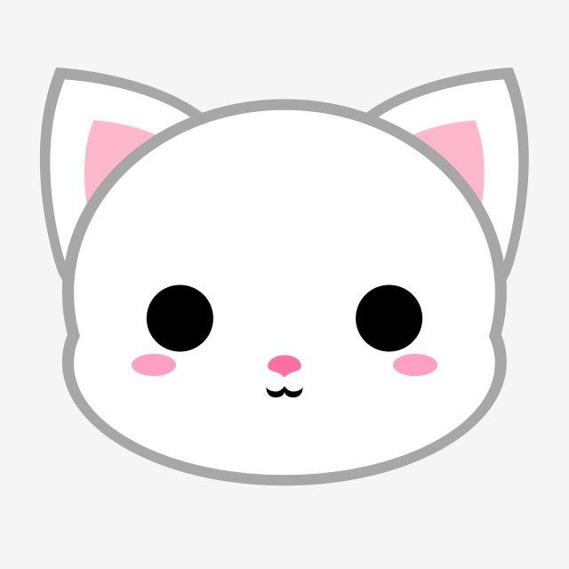 Cute White Cat Head Cat Cat Icons Cute Icons Png Transparent Clipart Image And Psd File For Free Download Dibujos Kawaii Faciles Dibujos Kawaii De Animales Dibujos Kawaii Tiernos
