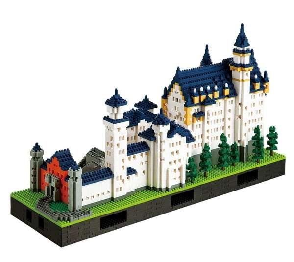 LEGO Neuschwanstein Castle - #castle #LEGO
