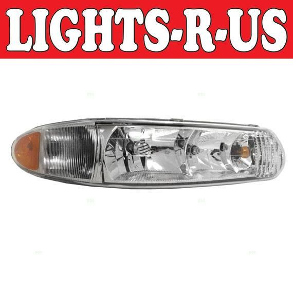 Light R Us Buick Regal Headlight With Corner Lamp Rh Right Penger 1997 1998 1999 2000 2001 2002 2003 2004 97 98 99 00 01 02 03 04