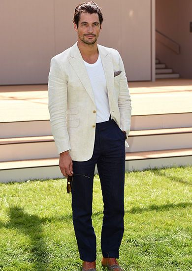 David Gandy In need of summer tailoring tips? Look no further than ...