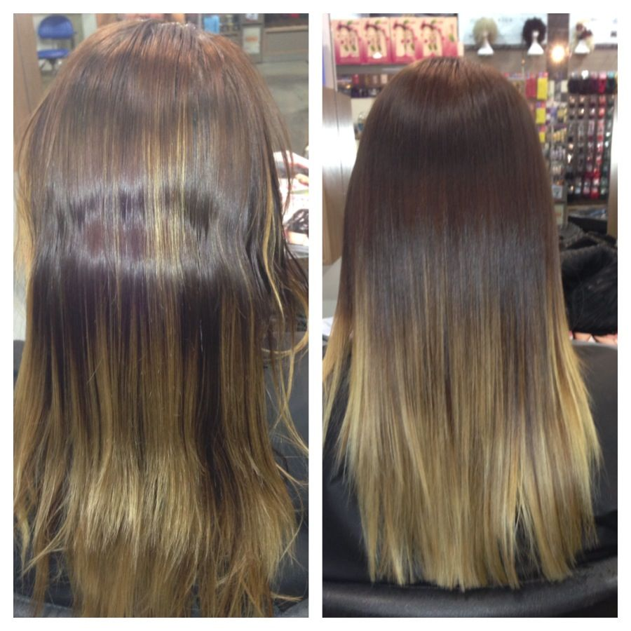 Re Correction Balayage I Love Creating Beautiful Colours Fixing